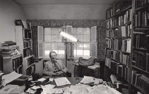 I.F. Stone in his 29th Street office